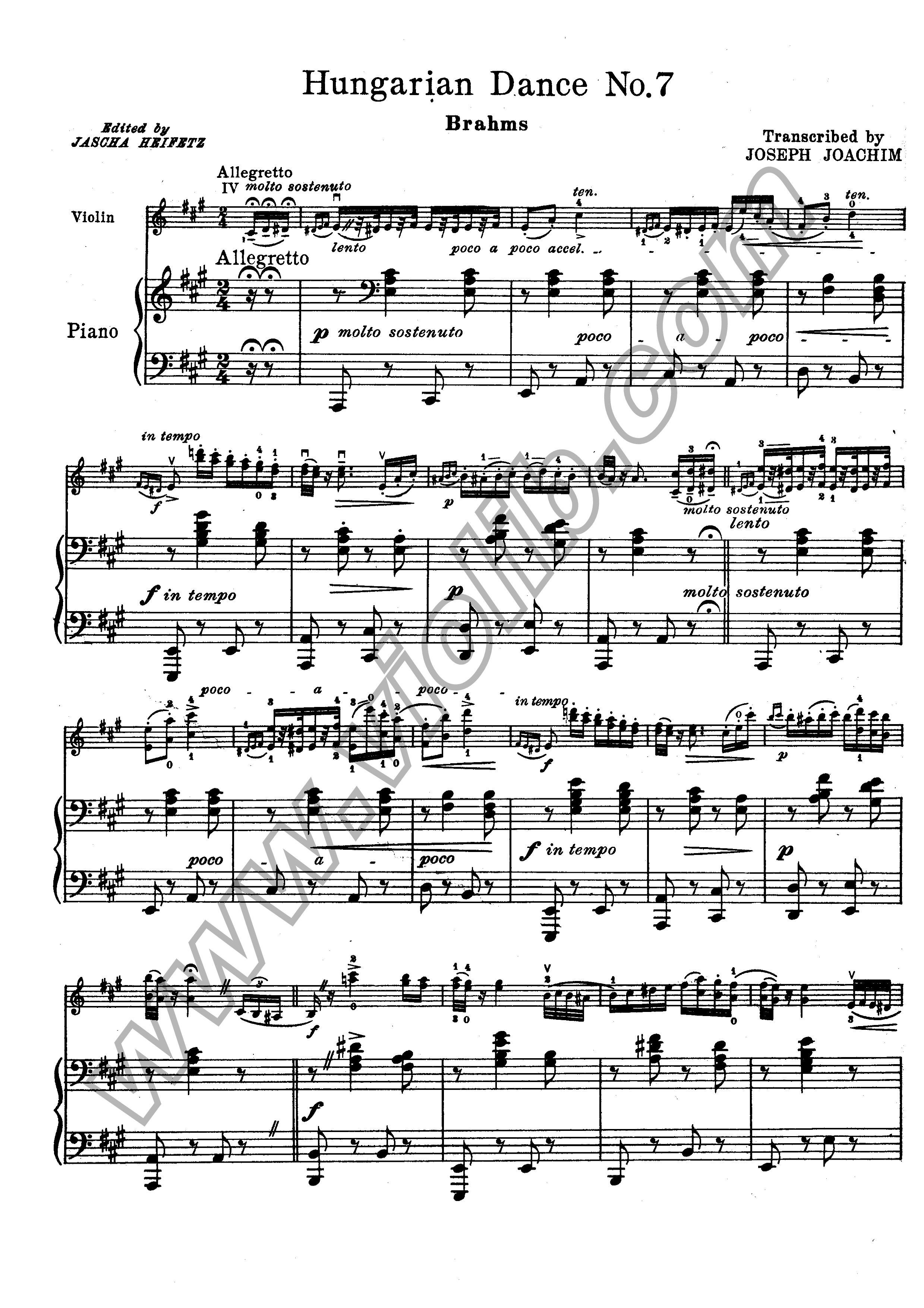 21 hungarian dances (piano), woo 1 (brahms, johannes)
