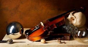 Натюрморт со скрипкой. Скачать обои
